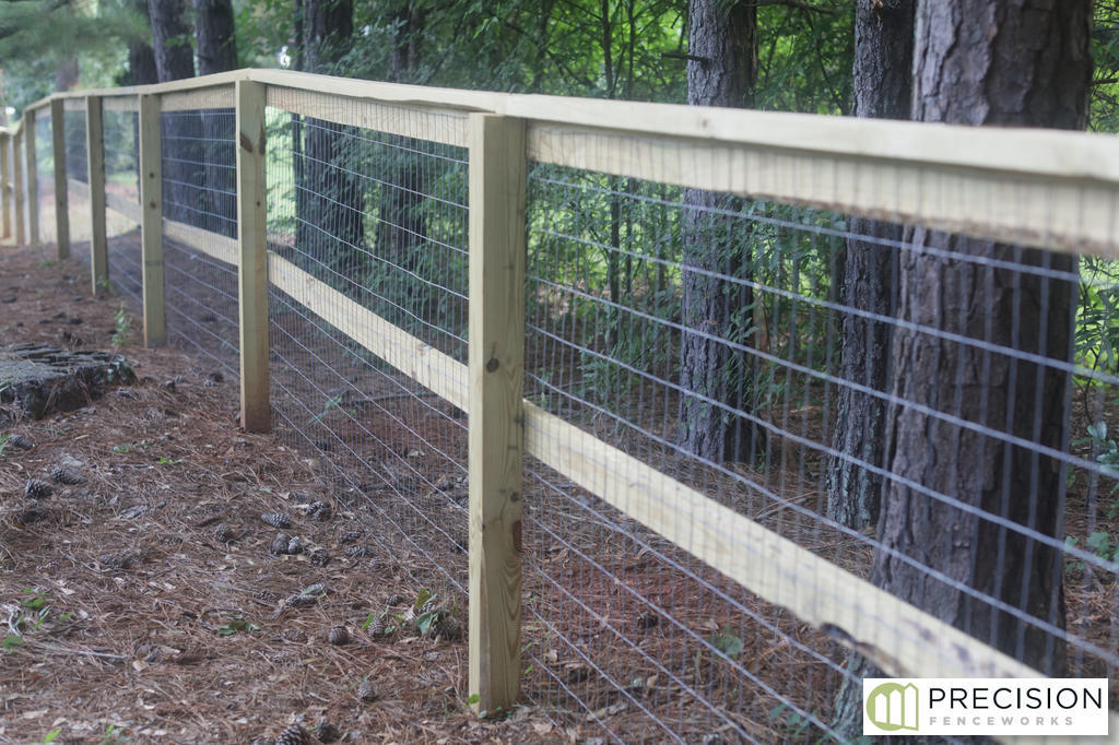 Wood And Wire Fencing Precision Fenceworks